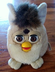 furby non-talking buddies plush cream body