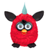 furby plush redblack time dust furbish