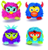 furby party animals plush assortment time