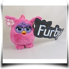 Buy 9CM Baby Pink Furby Soft Plush Toy Keychain