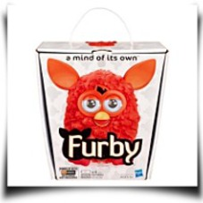 Furby 2012 Orangered A Mind Of Its Own