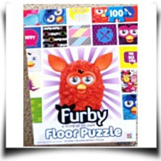 Furby A Mind Of Its Own Floor Puzzle