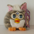 furby buddies grey white bean plush