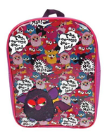 Furby Pvc Front Kids School Backpack