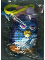 Owl Furby Plush Clipon